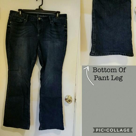 NYC Denim - 18 petite NYC bootcut jeans.